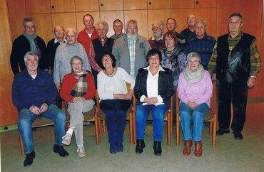 Senioren Bezirksseniorenausschuss Gruppenfoto