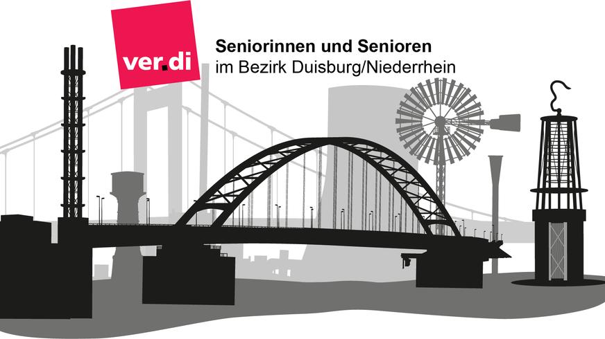 Duisburg Niederrhein Logo aus dem Seniorenflyer