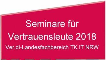 Seminarprogramm 2018 VL LFB 9 NRW - Teaser