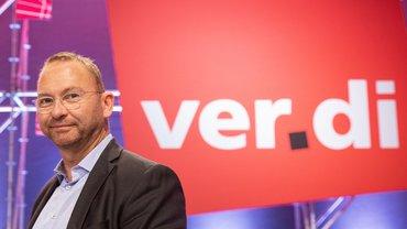Der neue ver.di-Vorsitzende Frank Werneke