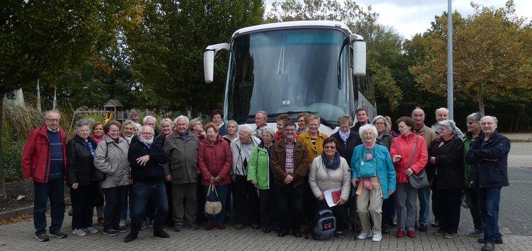 Ausflug der verdi-senioren nach Kleve