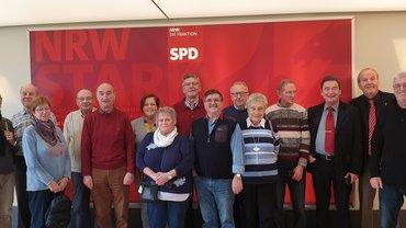 Senior*innen Duisburg/Niederrhein: Ausflug zum Landtag nach Düsseldorf
