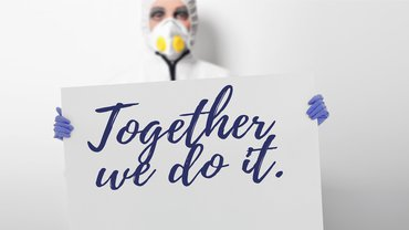 Coronavirus - together we do it!