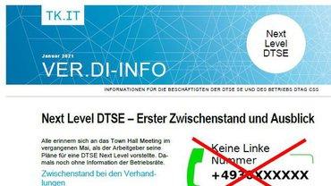 ver.di-Info Next Level DTSE Januar 2021 - Teaser