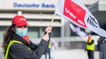 Streiks sind in der Tarifrunde bei den Banken nicht ausgeschlossen